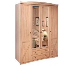 Шкаф четырехдверный для одежды и белья Адель (Adele) 9